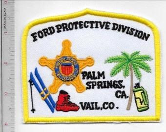 US Secret Service USSS California & Colorado President Gerald Ford Protective Division POTUS
