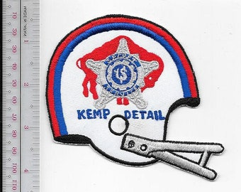 US Secret Service USSS New York Jack Kemp Protective Details Buffalo Bills Agent Service Patch
