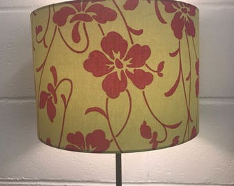 Green and Pink Retro 30cm Lampshade
