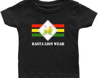 Rasta Lion Wear Original Infant T-shirt RLW486