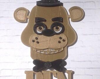 Custom Five Nights at Freddy's Cake Topper