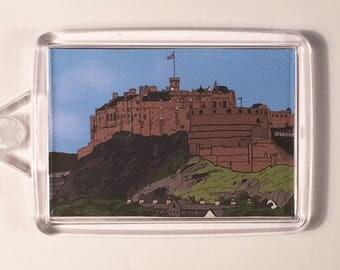 Edinburgh Castle Keyring