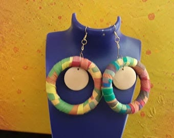 Creole earrings