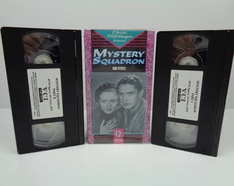 Mystery Squadron VHS Tape 1933