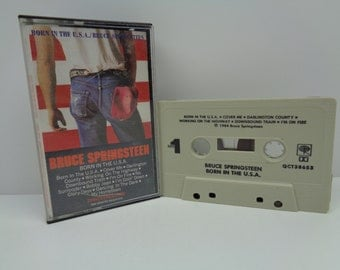 Bruce Springsteen Born in the USA Cassette