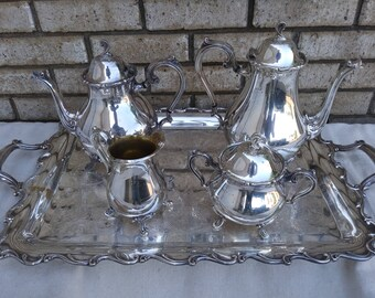5 piece Webster Willcox tea set