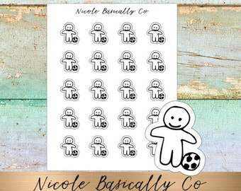 Cutie Pies- Soccer Planner Stickers
