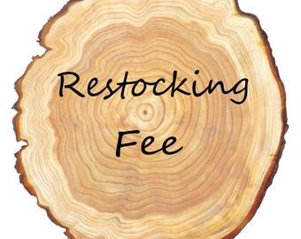 Restocking Cost
