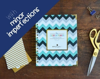 Minor Imperfections Chevron Cover w/5 weeks of planning pages p/month