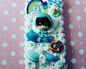 Custom swimming anime inspired decoden phone caseHaruka Makoto Rin Nagisa Rei iphone samsung