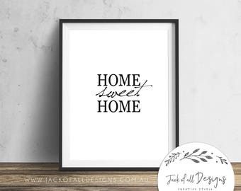 Home Sweet Home -  Wall Art Print