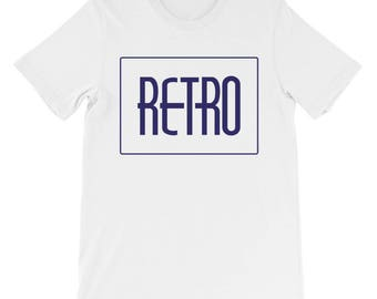 Retro Unisex short sleeve t-shirt