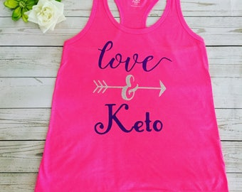 Keto Love Made to order Tank top