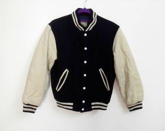 Sale! Rare!!! Vintage Big-John JeansStops Varsity Jacket Size Small