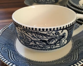 Tea Cups and Saucers - Set of 10