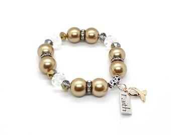 Gold Awareness Ribbon Bracelet, Childhood Cancer, Pediatric Cancer, Childhood Cancer Awareness, Cancer Awareness, Childhood Cancer Survivor