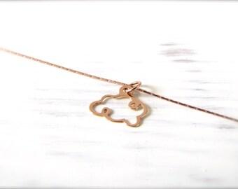 Cloud   Necklace   Rosé gold