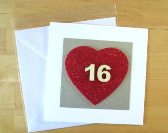 16th 18th 21st Birthday Card, Daughter 16th 18th 21st Card, 16 birthday card, 18 birthday card, 21 birthday card , Age 16 , Age 18, Age 21