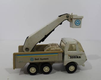Bell System Truck And Van With Trailer