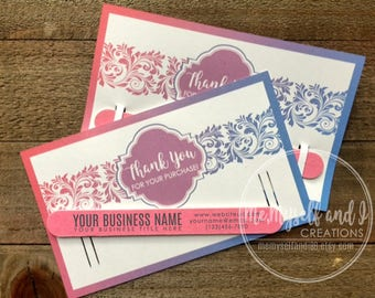 Fashion Retailer Thank You Cards / Marketing Kit / Promotional Products / Business Cards / Thank You Gifts / Promotional Gifts / Consultants