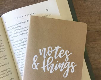 Notes & Things | Moleskine Journal/Notebook