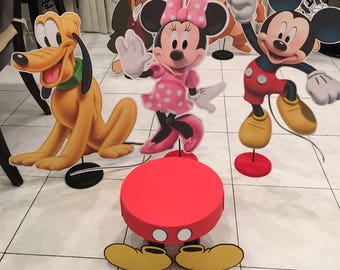 "24"" Mickey Mouse Clubhouse centerpiece"