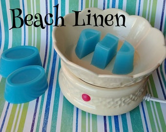 Beach Linen wax melts - wax shots - candle melts - tart melts - home fragrance