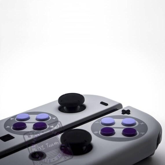 custom snes super nintendo themed nintendo switch joycon joycon controllers