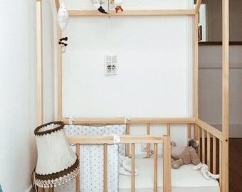 montessori furniture montessori room farmhouse floor bed. Black Bedroom Furniture Sets. Home Design Ideas