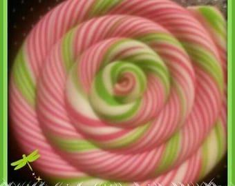 Cabochon Lollipop candy kawaii polymer clay fimo