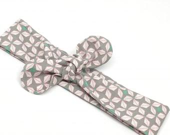 Geometric pattern headband