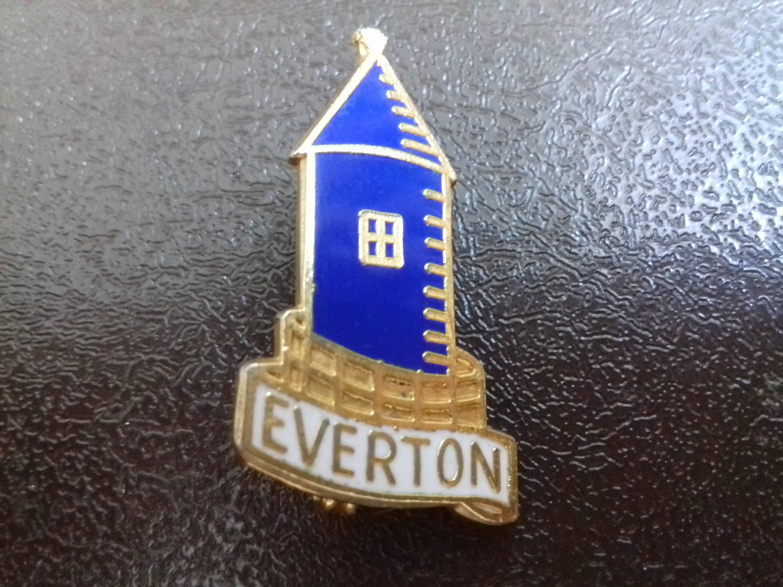 Enamel Pin Badge Everton FC Football Soccer Club England