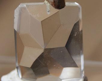 rock crystal pendant