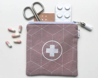 Travel first aid kit first aid pouch first aid bag medical travel bag medical travel pouch emergency kit emergency bag medicine bag