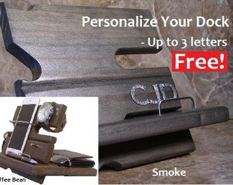 Organizer, Charging Station, iPhone, Charging Dock, Phone Station, Valet, Tech Gift, Desk Caddy, Gift for Men, Phone Charger