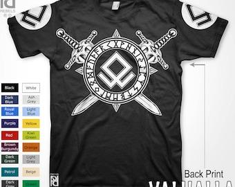 Norse Odal Othala Rune Viking Valhalla Pagan Rebels T-Shirt