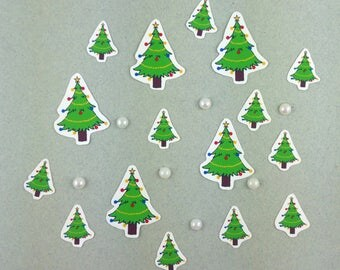 "Big sticker set ""Christmas - tree"""