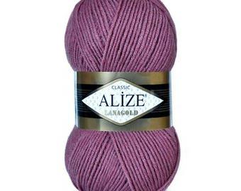 Alize LANAGOLD CLASSIC , %49 wool yarn,wool blend yarn, wool, acrylic, heavy weight yarn,knitting yarn,