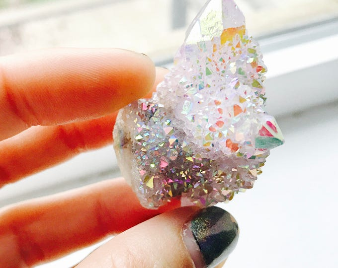 Aura Spirit Quartz Crystal