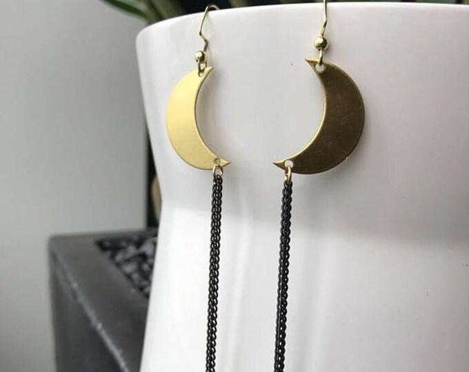 CLEARANCE SALE Eclipse Dangle Earrings