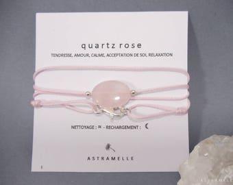 Necklace rose Quartz treats