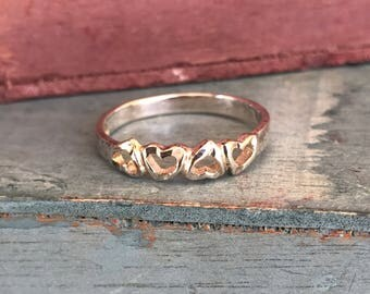 Sterling Silver Heart Band Possible Duplicate