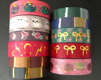 """24"""" SAMPLES of Simply Gilded foil washi tape (M242)"""
