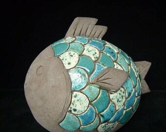 Stoneware fish ball