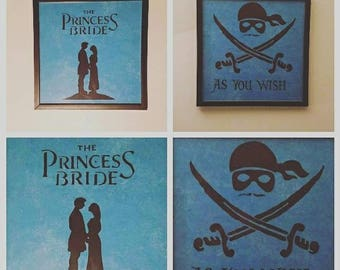 The Princess Bride Character Frames
