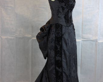 Interchangable Victorian Bustle day/evening dress