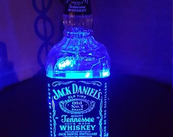 Jack Daniels Lighted Bottle