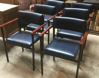 6 Danish style chairs / office chairs