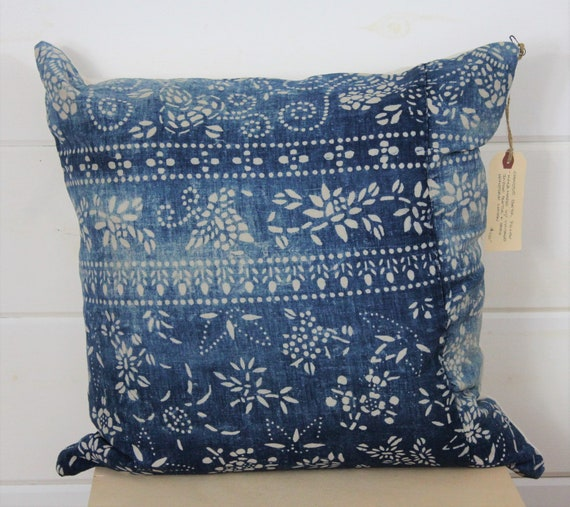 Chinese Batik Pillow