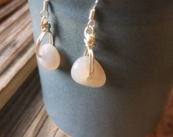 Oceanside Agate Earrings